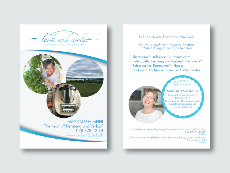 Look and Cook Flyer Design