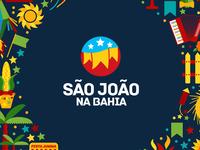 São João na Bahia Logo