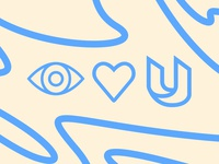 EYE / HEART / U