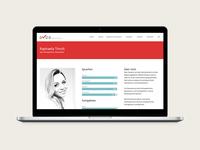 Webdesign for an association