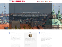 Landing Page: Czech Your Business