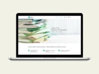 A website for a medical translator