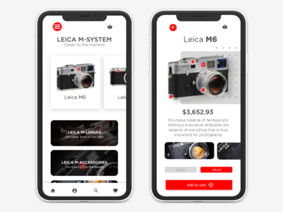 Leica E-commerce App