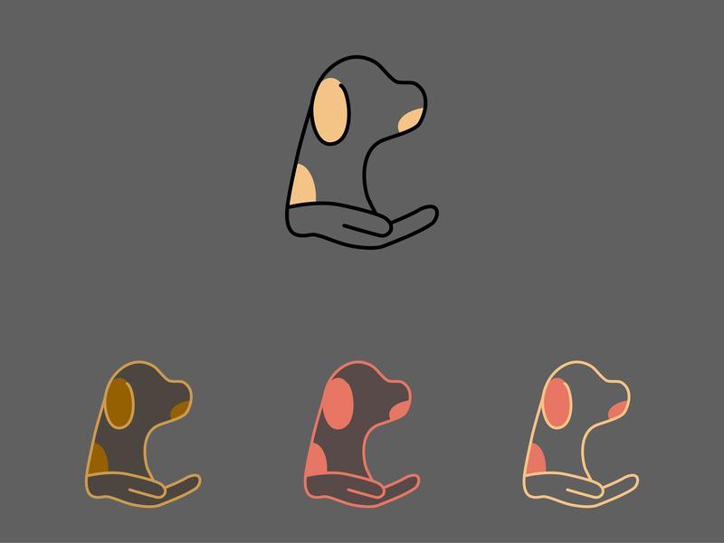 4 Legs Rescue logo illustration design animals rescue legs logo dog