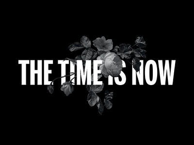 The time is now streetwear county of milan marcelo burlon fashion still life dead now time white black flower