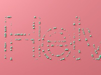 Helvetica Dots