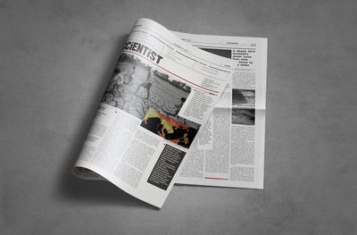 Newspaper Layout The Scientist