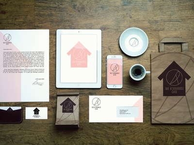 Brand Identity The Birdhouse Cafe