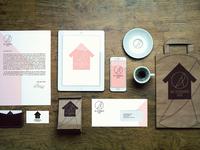 Brand Identity The Birdhouse Cafe