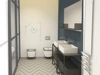 Design hotel bathroom