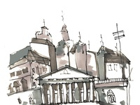 Vilnius sketch
