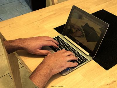 Ghost Hands laptop hands photoshop ghost hands