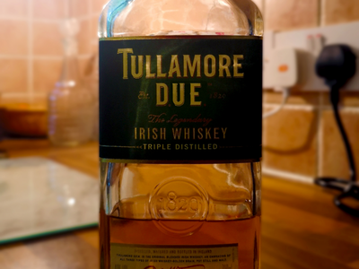 Tullamore Dew irish whiskey tullamore dew