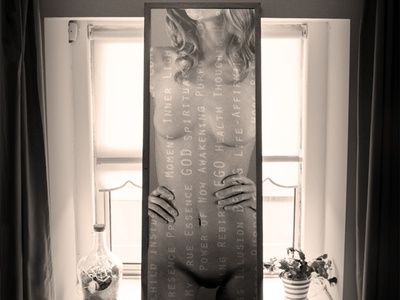 Look Within photoshop art nude art now god eckhart tolle look within