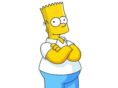 Old Bart Simpson