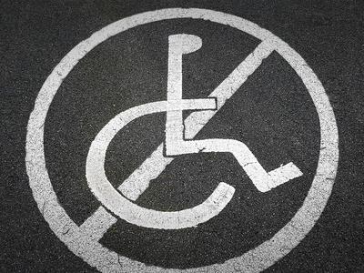 No Handicapped Parking