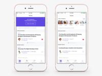 """Discussions"" app quick concept/exploration"