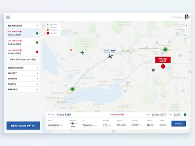Fleet management tool 2017 app minimalist clean interface flight plan flight interface airline aircraft flight fleet manager ui ux cynthia irani