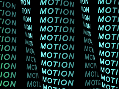 M O T I O N type art art design animate color typogaphy