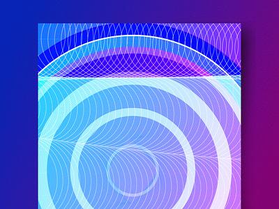 Shape and Color Study No. 2 freelance designer geometric art illustrator branding color vector art illustration vector flat design