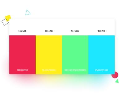 🎨 Color Palette for my Website
