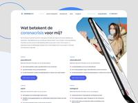 Corona24/7 - Website
