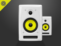 Studio Speakers Icon