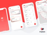 Triplan - Roadtrip Planner App