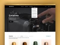 Nespresso.com Redesign