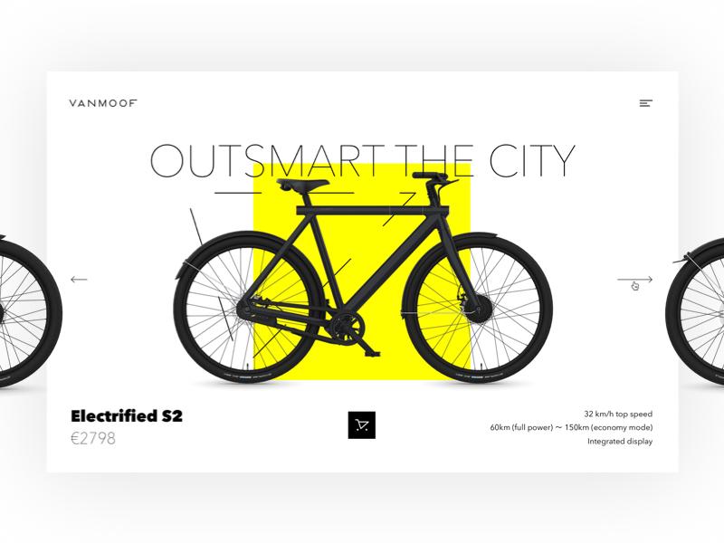 VanMoof Bikes Concept by Dillen Verschoor for gracious on