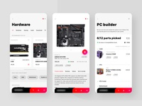 Online hardware store concept