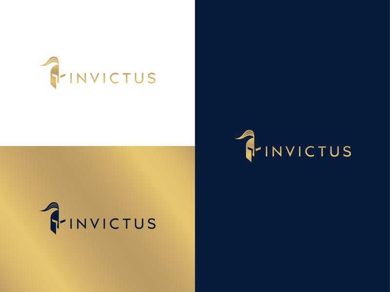Invictus Identity design type brand design identity logotype logodesign logo branding