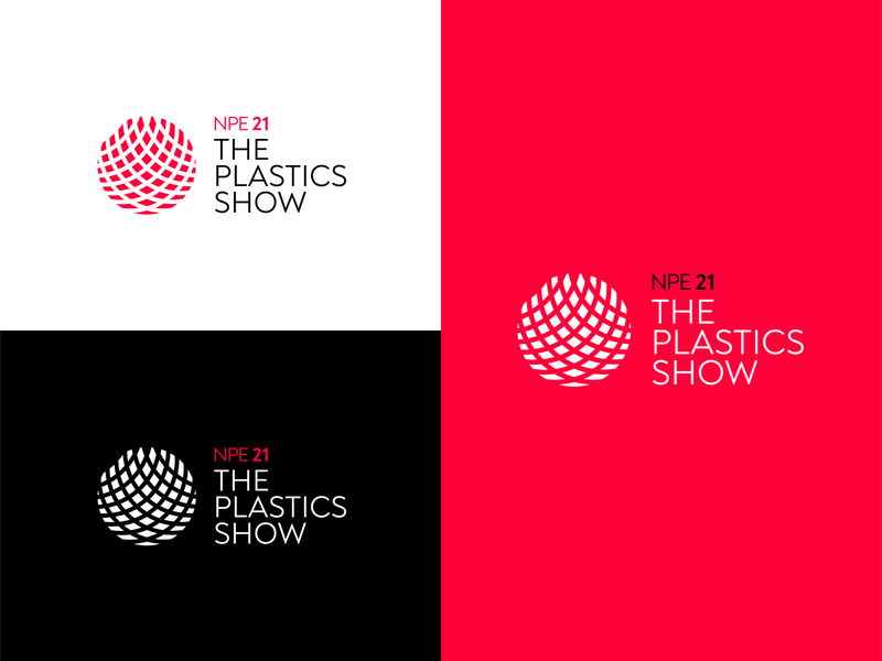 The Plastics Show - Branding logotype type brand idenity logo design logo branding