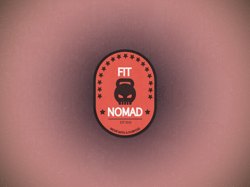 Crossfit Apparel Brand | Fit Nomad competition teaching learning training crossfit weight lifting weightlifter weight loss wellness healthy lifestyle healthy healthy living health coach health fitness app fitness business logo branding logo design