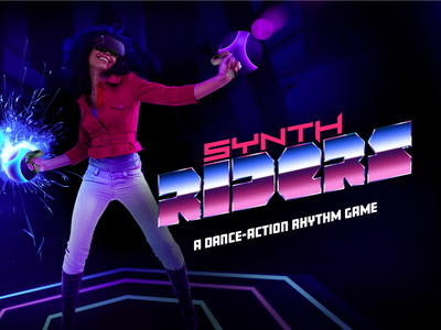 Synth Riders - VR Game Ad vrgame videogame virtual reality vr