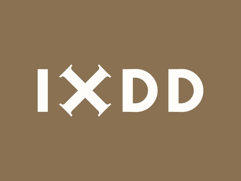 World Interaction Design Day (IXDD) — Concept 3 adobe ixda ixdd interaction design interaction ux  ui ux ui typography type monogram logos logotype logo branding