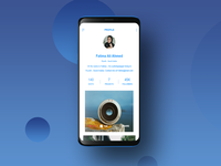 User Profile - Daily UI Challenge