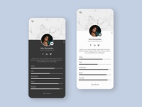 User Profile - DailyUI 6/100