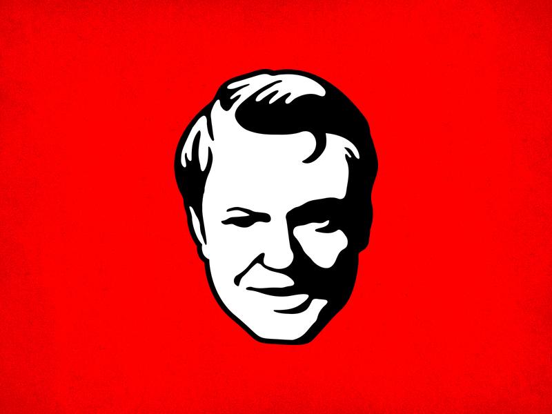 The Face illustration vector branding logo