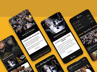 Alamo Drafthouse Mobile App app ios movies design system mobile app ux ui alamo drafthouse