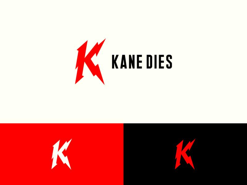 "Kane Dies ""K"" mark politics vector logo branding movies"