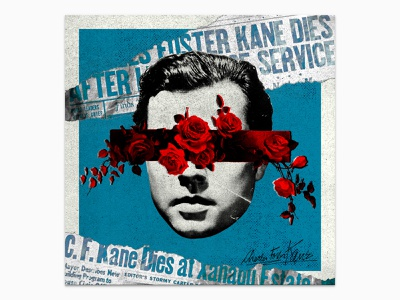 Kane Dies Fotograms art illustration movies