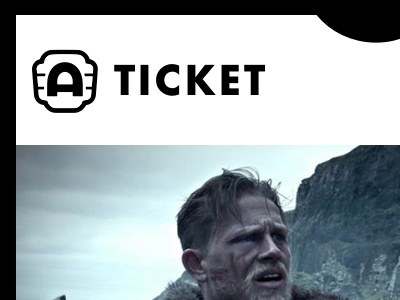 Ticket Design for the Alamo Drafthouse iOS App