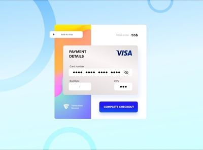 Challenge #2 - Credit Card Checkout #DailyUI