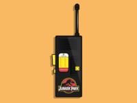 Jurassic park walkie talkie
