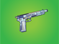 Dagger 9mm Romeo and Juliet pistol