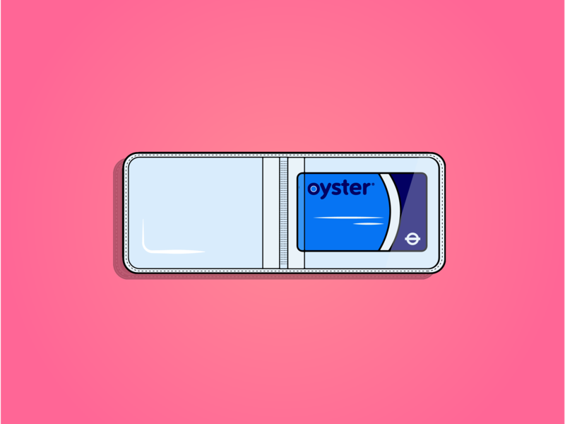 Oyster card film drinks logo icon flat branding drawing design cartoon vector illustration art colourful vector design vector art illustrator illustration design illustration adobe london tube