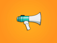 Because a megaphone means business.