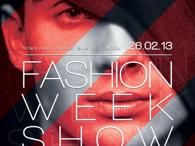 Fashion Flyer Poster psd print poster hairstyle hair glamour flyer festival fashion emotions elegance concert