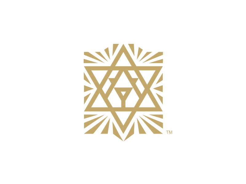 Shomer design lion judah hebrew england star of david judaism logo brand branding identity icon leo star jewish trading economy finance